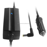 Dual USB ports Laptop DC Car Adapter Charger 90W 19V 4.74A for toshiba asus
