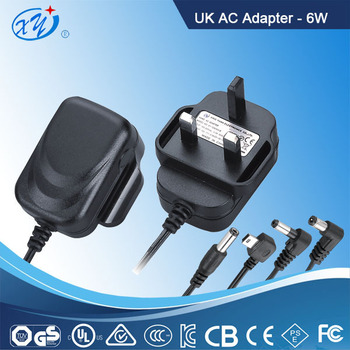 6W 12V UK LED driver AC Adapter Switching Power Supply with GS CE