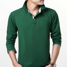 Wholesale Price China Manufacturer Plain Long Sleeve Polo T Shirt