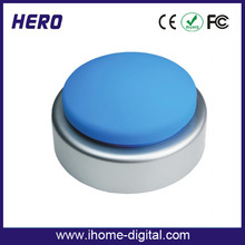 Manufacturer talking buzzer custom easy talking sound buttons for promotion