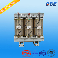 high voltage 11kv 10kv 0.4kv dry type H grade insulation no-encapsulated-winding distribution 315kva transformer