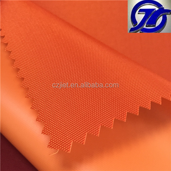 polyester 600 x 300d microfiber bag material with pvc coated from china