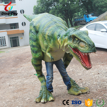 Popular Customized Walking with Robotic Dinosaur Costume for Sale