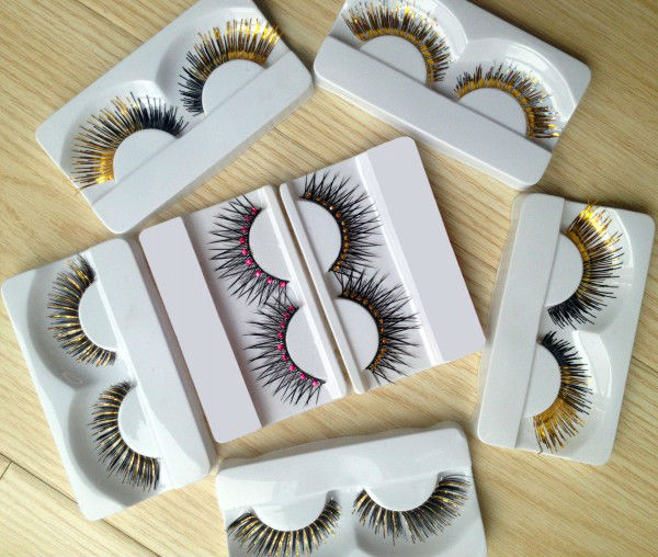 60 Pair 6 different Style Long False Eyelashes (factory selling )