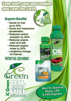 IC Green Oil Enhancer