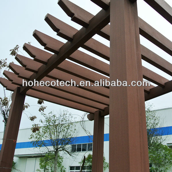 Wooden Plastic Composites gazebo/ post