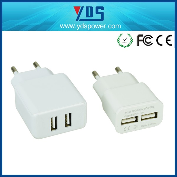 Hot new products for 2016 5V 2A US/EU/UK plug fast charger for iPhone travel usb charger