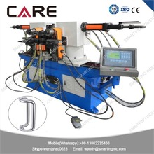 SW38A Rotating type double side tube bender machine for steel furniture making