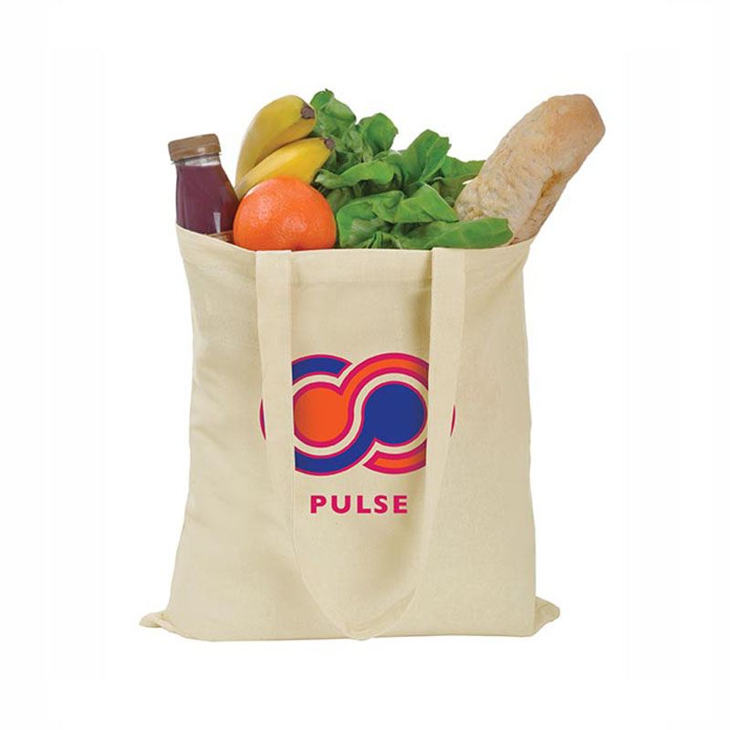 Recycle tote canvas bag vegetable fruit packing bag cotton canvas shopping bag