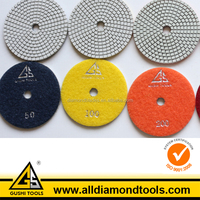 200# Wet Diamond Flexible Polishing Pad for Stone Surface