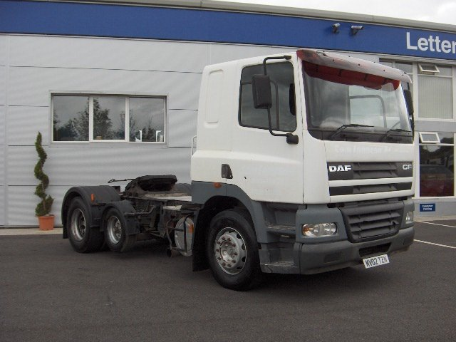 Daf Cf85. 430 2002 6x2 Right Hand Drive Truck