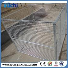 hot dipped galvanized welded mesh or chain link mesh type large outdoor dog run kennel manufacturer