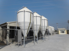pig farm feed bins for silo grain storage