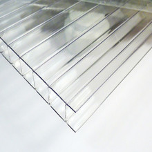 China factory Grade A 4mm double twin wall hollow multiwall polycarbonate sheet