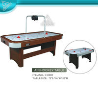 6-foot Air Powered Hockey Table with Electroic scorer
