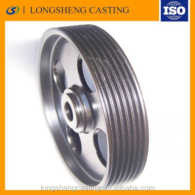 Customized Good quality ISO Cast iron sheave V pulleys