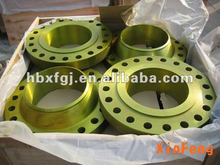 BS4504 forged cs and ss welding neck flanges