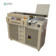 China factory outlet hot lijm boekbinder bindmachine automatische A4 A3 smeltlijm boek bindmachine