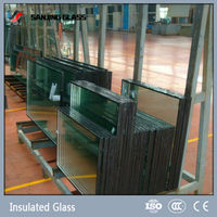 Energy saving Low-E coated insulated Glass price