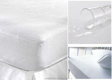 Terry Towel Waterproof Mattress Protector Mattress Fitted Cover - All Sizes