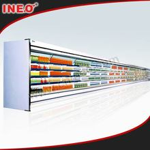 Vertical Supermarket Commercial Display Cooler/Open Top Beverage Cooler/Open Beverage Display Cooler