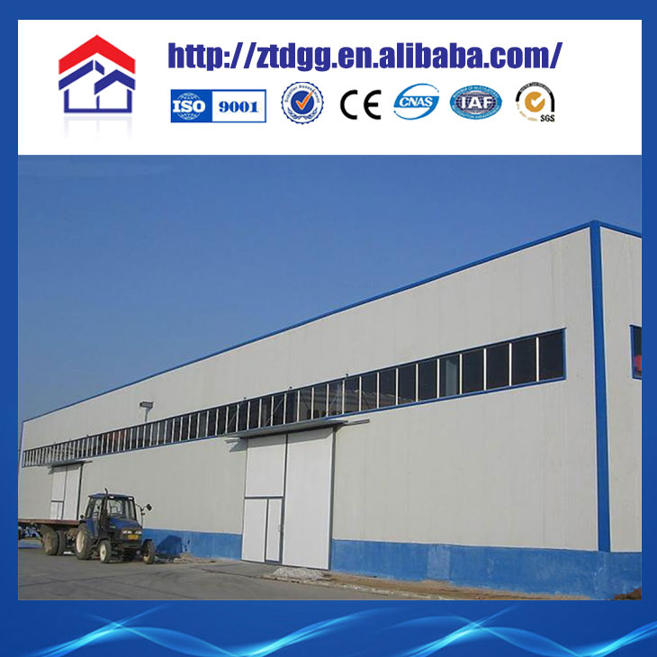 Factory price low cost light steel structure cow dairy farm