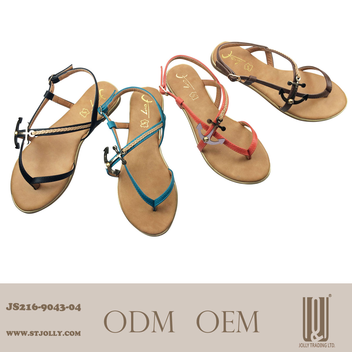 2014 china flat sandals for lady picture