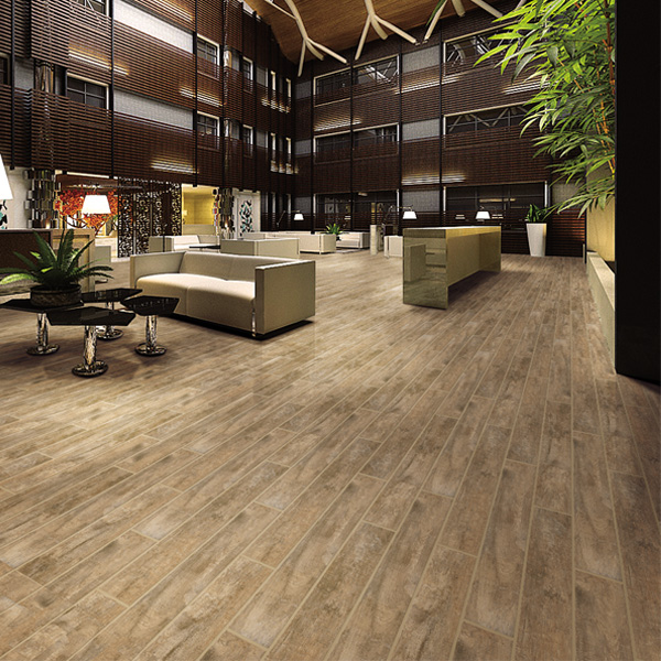 Bedroom Log Color Wood Look Rubber Flooring Tile Buy