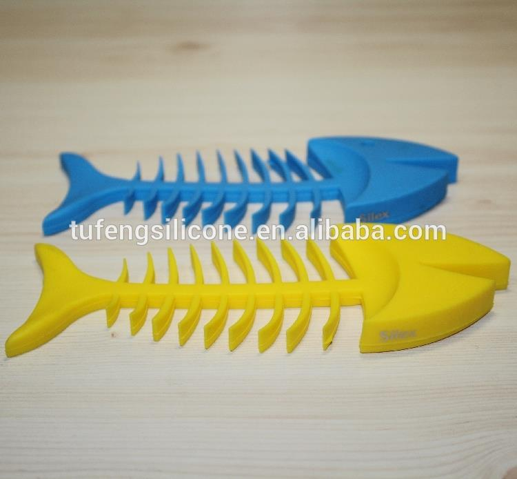 Hot sale lovely fish shape silicone rubber soap holder