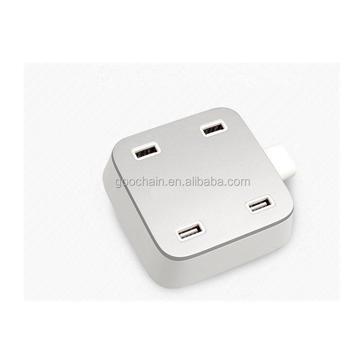 5V 5A 4 ports smart USB desktop charger universal wall charger for family use