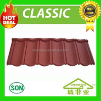 hot in nigeria bond sand coated metal roof tile