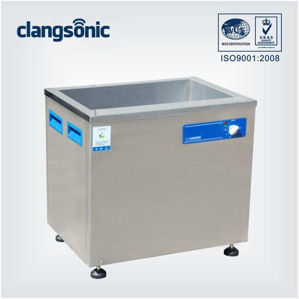 84L Stainless basket price Oil filter ultrasonic cleaner / cleaning machine