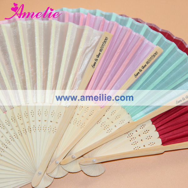 Wedding Hand Fan Customize Wedding