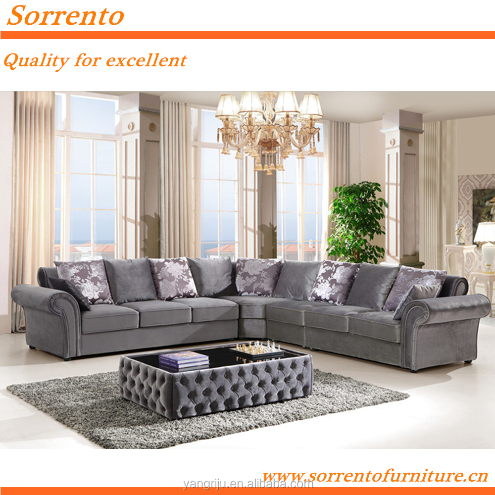 564-3#-1507 Sorrento Russian antique style living room furniture sofa set