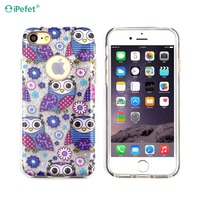 TPU PC combo phone cover,for iPhone 7 custom printed Mobile phone case