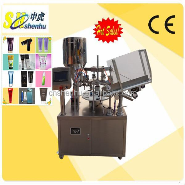 Automatic Baby Eczema Cream Soft Tube Filling and Sealing Machine