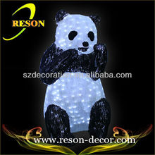 RS-Animal30 panda personalized christmas ornaments