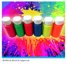 Fluorescent Water Based Paint Pigment liquid for Paste