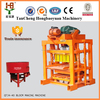 2016 Small scale industries QT4-40 manual hollow interlocking tiger concrete block machine at6 cheap concrete block machine