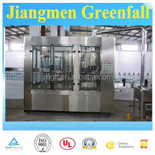 Professional Supplier For Plastic Bottle Automatic Water Washing Filling Capping Machine/Line