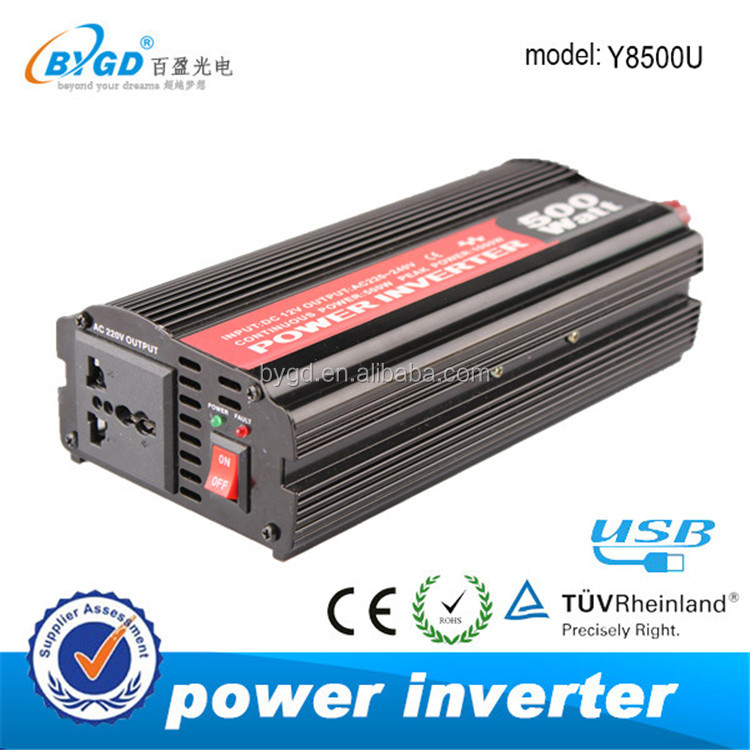 500w 12v 24v Off grid inverter,dc/ac power inverter 500w 1000w peak