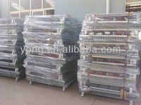 Strong Iron folding storage cage for store