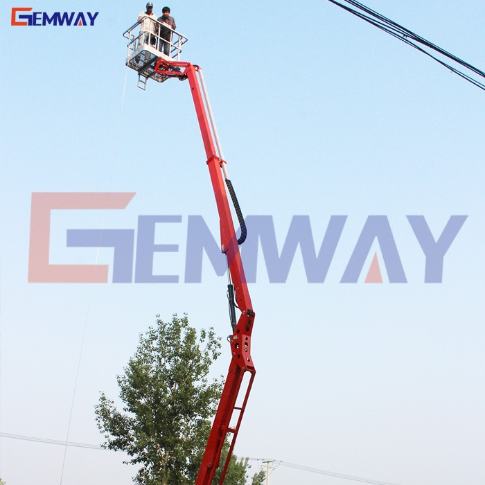 DISCOUNT! Towable small boom lift type cherry picker for sale