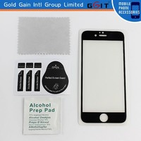 New arrive Electroplating Mirror screen protector for iPhone 6 plus, for iPhone 6 plus tempered glass screen protector