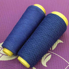 Specilized yarn manufacturer 80% cotton 20% polyester top selling open end p/c regenerated jeans yarn