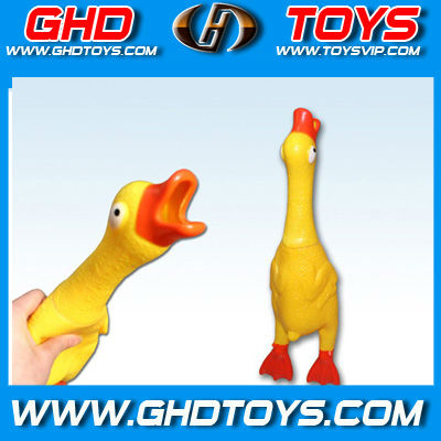 GHD Toys hot selling flashing screaming kids small duck toy