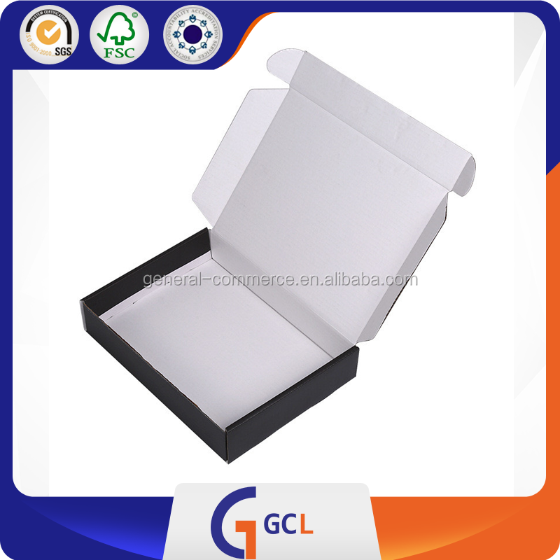 Black Cylinder paper packaging box
