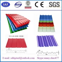 Polymer coated steel/color coated metal barn roof