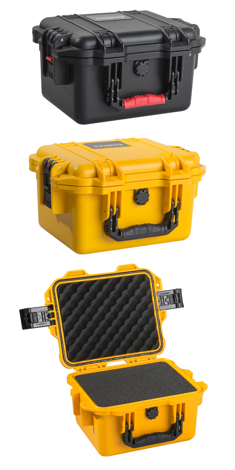 Platic waterproof carrying case