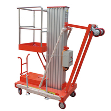 portable single man aluminum lift